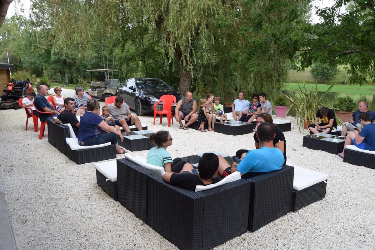 Camping Paradis Etangs de Plessac - Photo 30