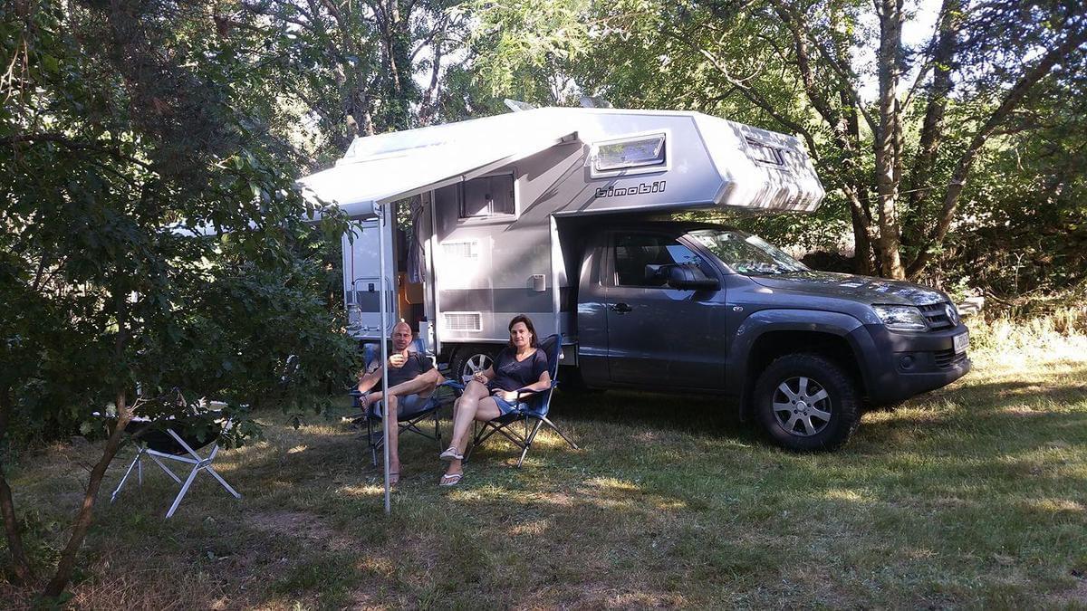 Aire naturelle de Camping La Ferme aux Cerisiers - Photo 8