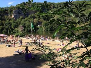Camping De LA PLAGE à St Cirq Lapopie - Photo 16