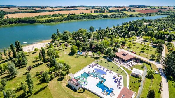 Camping Lac de Thoux St-Cricq - Photo 2