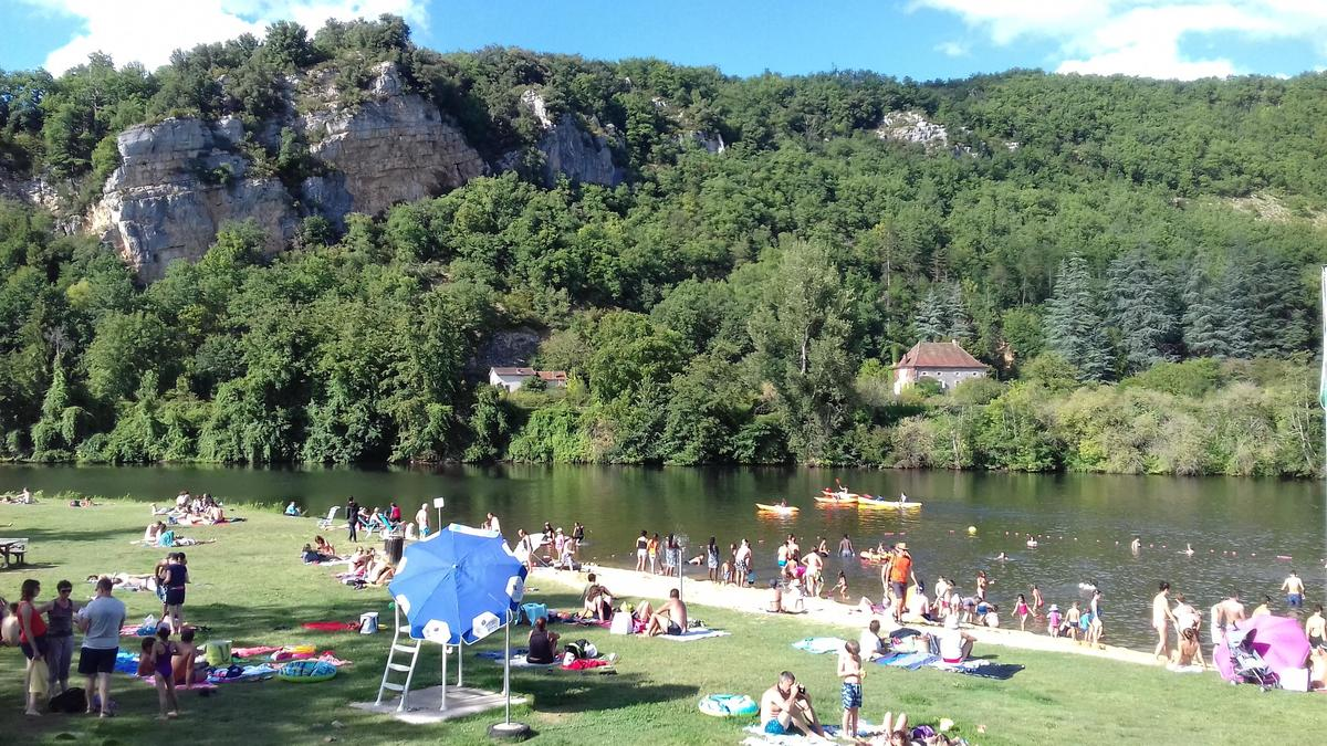 Camping De LA PLAGE à St Cirq Lapopie - Photo 7