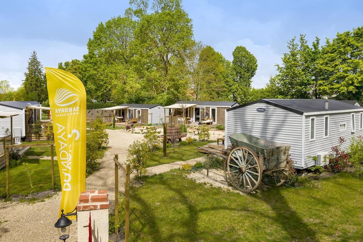 Camping Sandaya Château des Marais - Photo 105