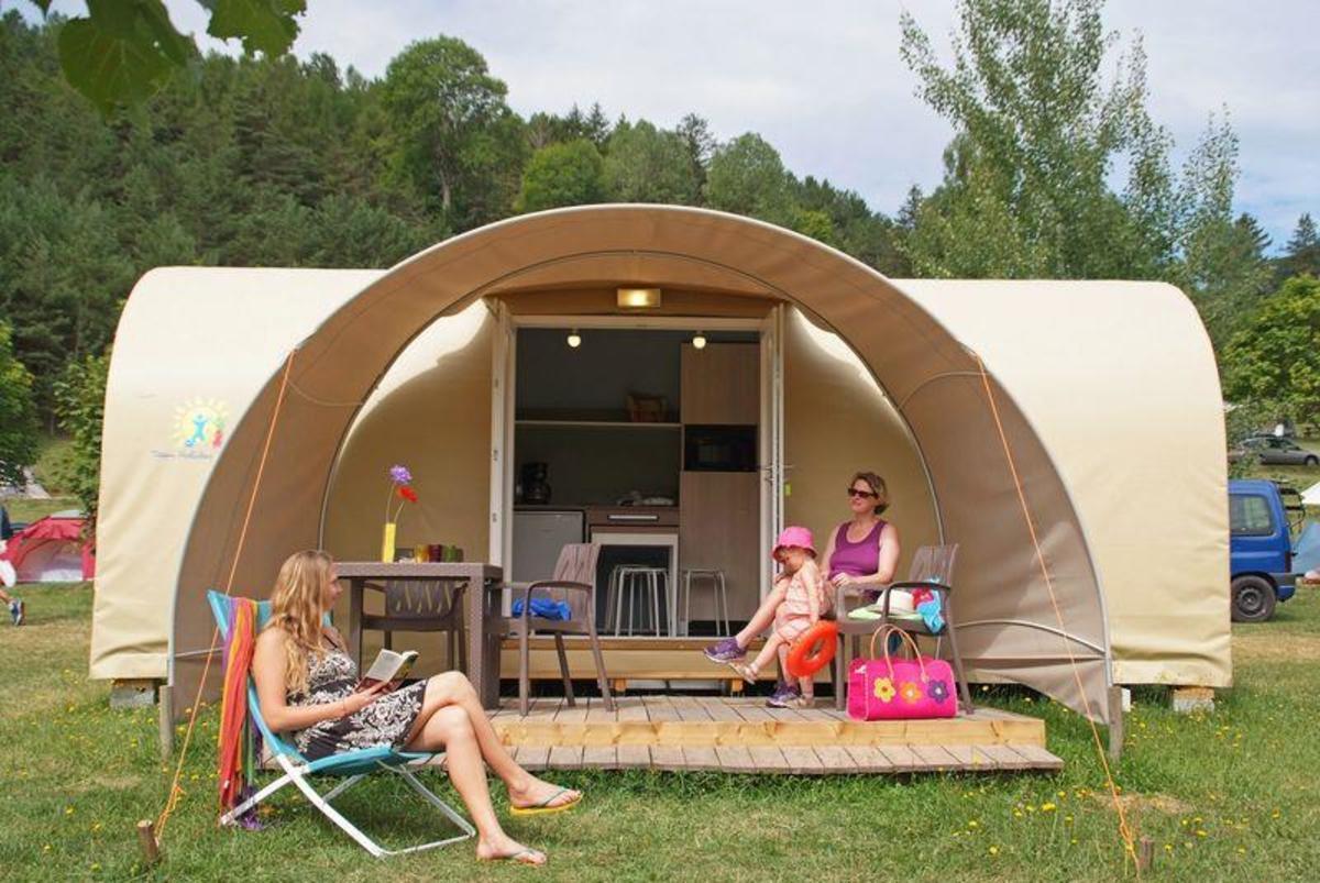 Camping CHAMP LA CHEVRE - Photo 1105